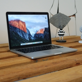 "2. EL MACBOOK PRO 13"" RETINA MF839LL/A i5 2.7GHZ 128GB GÜMÜŞ"