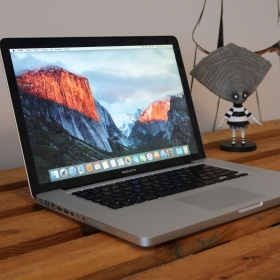"2. EL MACBOOK PRO 15"" MB470LL/A C2D 2.4GHZ 500GB GÜMÜŞ"