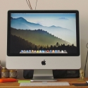 2.EL IMAC 20'' MB324LL/A CORE 2 DUO 2.66 320GB  GÜMÜŞ