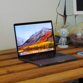 "MACBOOK PRO 13"" TOUCH BAR 2017 i7 3.5GHZ 512GB SPACE GREY"