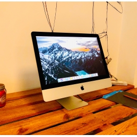 2. EL IMAC 21.5 INC LATE 2014 i5 1.4GHZ 500GB GÜMÜŞ